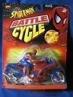 SPIDER-MAN BATTLE CYCLE BUMP AND GO MOTORCYCLE - 1