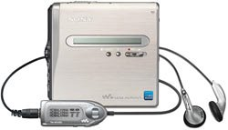 Sony MZ-NH1 Silver Hi-MiniDisc Walkman