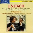 J.S. Bach: Suite No. 2 in B Minor BWV 1067; Concerto in G (Arrangement of Violin Concerto BWV 1056 for Flute; Concerto in A Minor for Alto Flute (Arrangement of Harpsichord Concerto BWV 1055); Concerto in E Major (Arrangement for Violin Concerto BMW 1042)