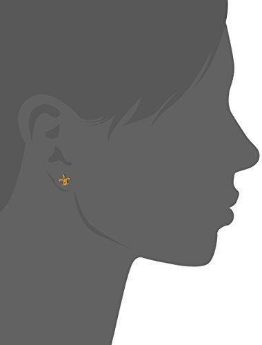 gorjana Fleur-De-Lis-Stud Earrings