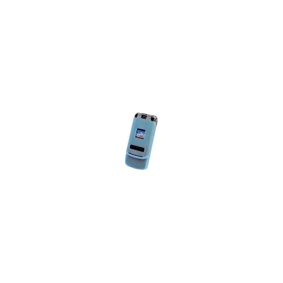 Motorola KRZR K1M Light Blue Silicone Skin Case