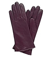 Autograph Leather Stitch Detail Gloves