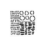 Dash Circle Dash 6 x 6 Template - Crafters Workshop