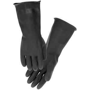 Firstgear Rubber Rain Gloves - Large/Black