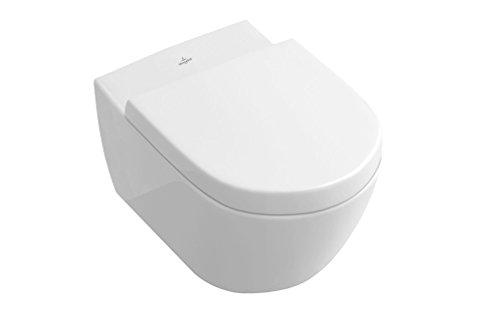 Villeroy & Boch Wand-WC Subway 2.0, Tiefspüler mit offenem Wasserrand