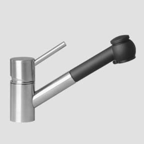 """KWC K 10 C1 33 000A08 Suprimo 9"""" Pull Out Kitchen Faucet"""