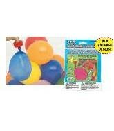 Balloon 200 pc Water Bomb w/Nozzle