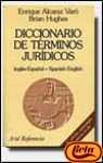 img - for The Diccionario de Terminos Juridicos Ingles / Espanol (Spanish Edition) book / textbook / text book
