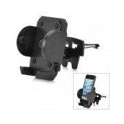 180 Degree Rotational Car Vent Mount Holder for Iphone / GPS - Black