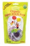 Lollipop Organic Super Sour 3 Ounces