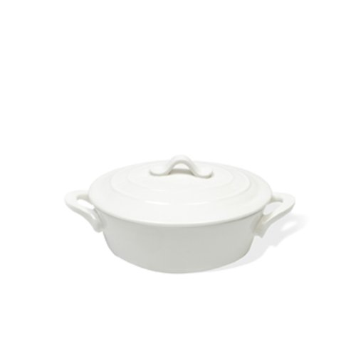 Maxwell and Williams 12-Ounce Basics Oven Chef Oval Casserole, Mini, White (Oven Dish Small compare prices)