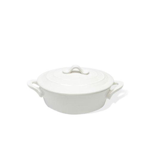 Maxwell and Williams 12-Ounce Basics Oven Chef Oval Casserole, Mini, White (Oven Dish Small compare prices)