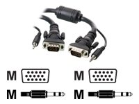 BRAND-NEW BELKIN COMPONENTS. BELKIN 10FT VGA MONITOR CABLE3.5MM AUDIO. HIGH-QUALITY