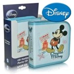 Disney Mickey Mouse Disc Wallet (Holds 32 CD/DVD)