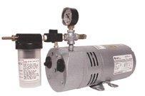 Gast Rotary Vane Air Vacuum Pump 1/4 HP 4 CFM Complete 0523-V356Q-G588DX