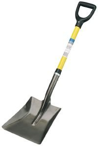 Draper 57567 Square-Mouth Shovel with Fibreglass Handle