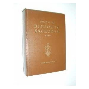Amazon.com: Bibliorum Sacrorum. Nova Vulgata Editio: Libreria ...