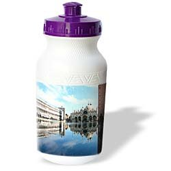 Vacation Spots - Piazza San Marco Venezia Italy - Water Bottles