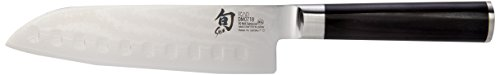 Shun Dm0718 Classic 7-Inch Santoku Hollow Ground Knife