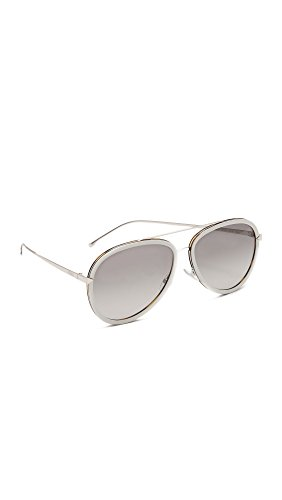 Fendi-Womens-Funky-Angle-Aviator-Sunglasses