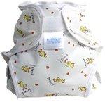Kushies Diaper Wrap - Infant - Stick Figures