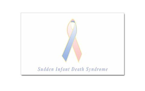 Sudden Infant Death Syndrome Awareness Rectangular Magnet front-277103