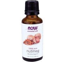 NOW Foods, NUTMEG OIL PURE 1 OZ ( Multi-Pack)