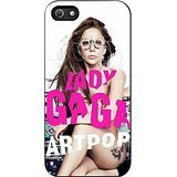 Artpop Lady Gaga Case / Color Black Plastic / Device iPhone 5/5s