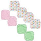Babies R Us 8 Pack Washcloth - Girl - 1