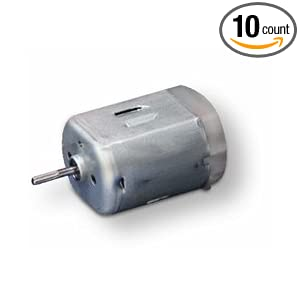Dc Motor Pack Of 10 Electric Motors