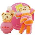 KALOO By Kaloo ParfumsLOLLIES ALCOHOL FREE EAU DE TOILETTE SPRAY 3.4 OZ & TOY FOR GIRLS