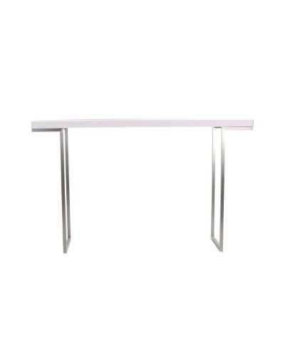 Cheap Moe's Home Collection 55 by 13-Inch Repetir White Lacquer Console Table (ER-1023-18)