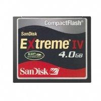 SanDisk SDCFX4-4096 4GB Extreme IV CompactFlash Card