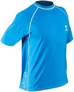 Scubapro Blue Loose Fit Short Sleeve Rash Guard by Scubapro