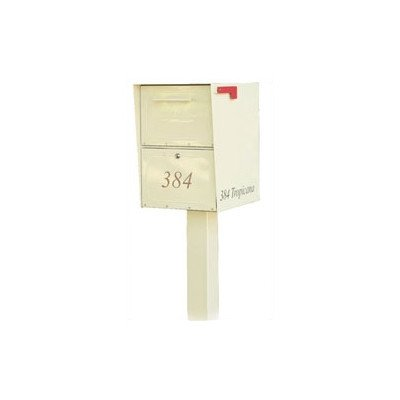 Architectural Mailboxes Oasis In-ground Post, Black picture