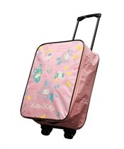 Hello Kitty Colorful Bunny Rolling Luggage Case  Pink Picture