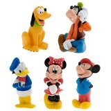 Disney Mickey Mouse and Friends Bath Toys
