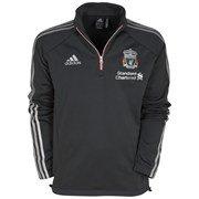 Adidas Liverpool Football Club Climawarm Mens Fleece 12 Zip Sweatshirts Football Soccer Sweaters Jumper Fan Lfc Man M-l 42-44 by Adidas