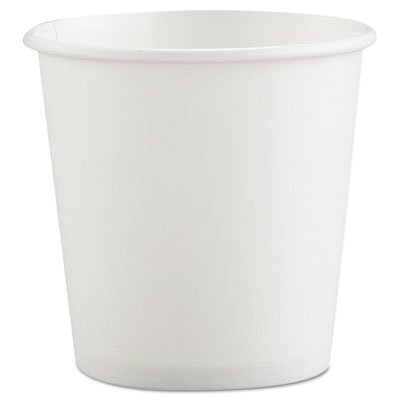 4 Oz Poly-coated Hot Paper Cups in White