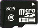 CFD [CUSD-8GC6] microSDHCカード 8GB CLASS 6 対応 SDカード変換アダプタ付属