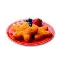 Chik N Stars Star Shape Breaded Chicken Breast, 10 Pound -- 1 Each.