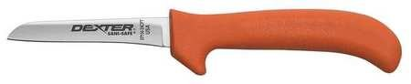 Deboning/Utility Knife, Orange, 3-3/4 In.