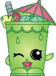 2014 SHOPKINS FIGURES - LITTLE SIPPER #097 SEASON 1