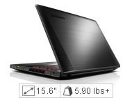Lenovo IdeaPad Y510p Laptop Computer - 59405673 - Dusk Black - 4th Generation Intel Core i7-4700MQ (2.40GHz 1600MHz 6MB)