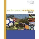 img - for Contemporary Marketing 2006- Text Only by Boone, Louis E., Kurtz, David L. [Thomson; South-Western,2006] [Paperback] book / textbook / text book