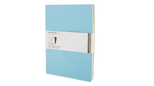 Moleskine Ruled Volant Notebook: Sky Blue X-Large