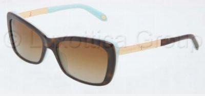f5cd283cdf2c TIFFANY Sunglasses TF 4075B 8134T5 Havana Blue 56MM