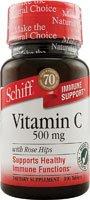 Schiff Bio Foods C 500Mg Rose Hip 100 Tabs