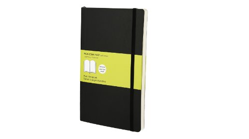 Moleskine Plain Notebook Soft Cover Large
