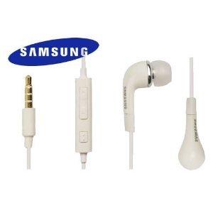 Original Samsung In-Ear Headset weiß ehs-64 EHS64AVF Kopfhörer mit Lautstärkeregler für Samsung Galaxy S3 i9300, Galaxy Note N7000, Galaxy W i8150, Galaxy Y S5360, Galaxy Nexus I9250, s8600 Wave 3, i9001 Galaxy S PlusGalaxy Xcover S5690 Smartphone, Wave Y S5380, Wave M S7250, i9000 Galaxy, S5830 Galaxy Ace, Galaxy R i9103,